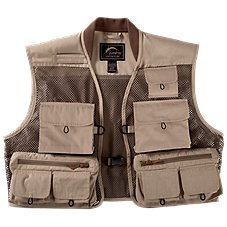 White River Fly Shop Journeyman Mesh Fly Fishing Vest for Men