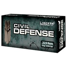 Liberty Ammunition Civil Defense Lead-Free Rifle Ammo