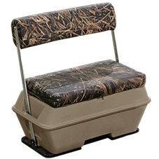 Wise Scout Pontoon Series 70 Quart Swingback Cooler Seat