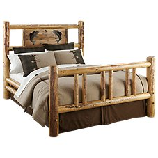 Lodgepole Bedroom Furniture Collection Trout Bed