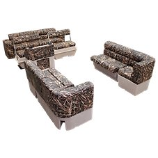 Wise Scout Pontoon Furniture Camo Series Traditional Group