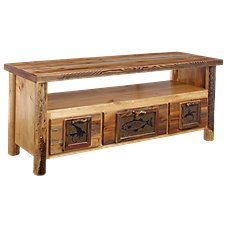Lodgepole Furniture Collection Bass Tile TV Stand