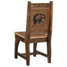 Barnwood Dining Room Collection Bear Chair