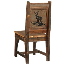 Barnwood Dining Room Collection Deer Chair
