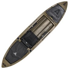 Ascend H12 Sit-Inside Hybrid Kayak - Olive