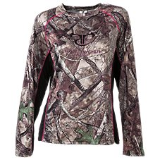 TrueTimber Long-Sleeve Performance Shirt for Ladies