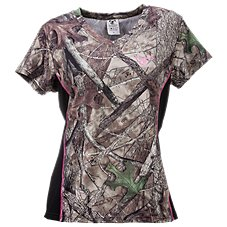TrueTimber V-Neck T-Shirt for Ladies