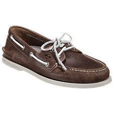 Sperry White Cap Authentic Original 2-Eye Boat Shoes for Men
