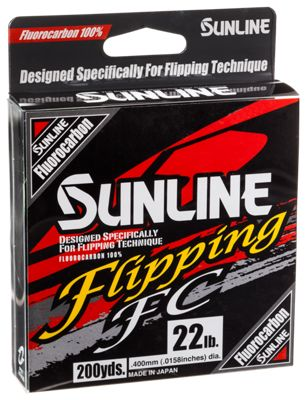 Sunline flipping fc fluorocarbon fishing line bass pro shops for Bass pro shop fishing line