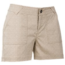 Ascend Printed Shorts for Ladies