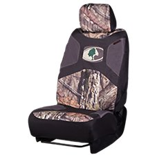 Signature Automotive Mossy Oak Low-Back Camo Seat Cover