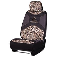 Signature Automotive Ducks Unlimited Low-Back Camo Seat Cover
