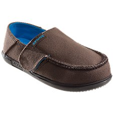 Crocs Santa Cruz Canvas Loafers for Toddlers or Kids