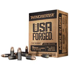 Winchester USA Forged Handgun Ammo