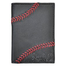Rawlings Baseball Stitch Front Pocket Wallet For Men