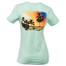 Guy Harvey Sundowner T-Shirt for Ladies