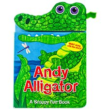 Andy Alligator Board Book for Kids by Sarah Albee