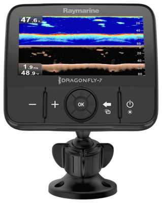 Raymarine dragonfly 7 pro fishfinder gps chartplotter with for Bass pro shop fish finders