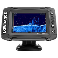 Lowrance Elite-5 Ti Mid/High/TotalScan Fishfinder/Chartplotter