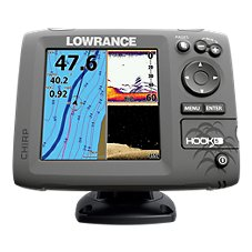 Lowrance Hook-5 Fishfinder/Chartplotter with Navionics+