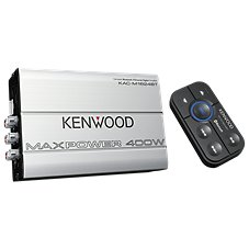 Kenwood Compact Bluetooth 4-Channel Digital Amplifier with Remote Control