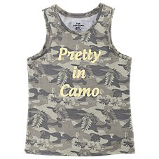 Bass Pro Shops Pretty in Camo Tank Top for Toddlers or Girls