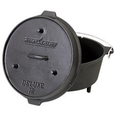 Camp Chef 12-Quart Deluxe Dutch Oven