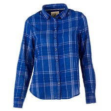 Ascend Plaid Button Shirt Shirt for Ladies