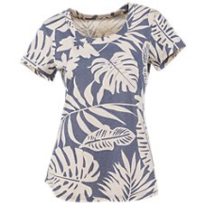 Natural Reflections Large Palm Print Top for Ladies