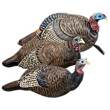 RedHead Reality Series Trigger Turkey Decoy 3-Pack