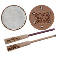 RedHead Reality Series Custom Cherry Aluminum Friction Turkey Call