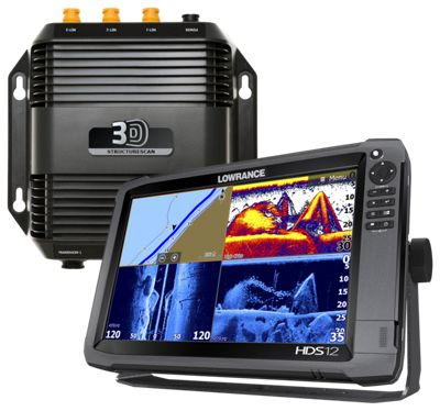Lowrance hds 12 gen3 insight usa fishfinder chartplotter for Bass pro shop fish finders