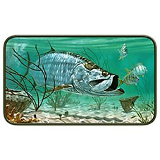 Tarpon by Don Ray Door Mat