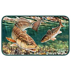 Redfish by Don Ray Door Mat