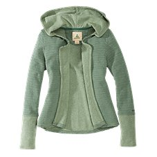Ascend Hooded Open-Front Cardigan for Ladies