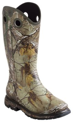 Ariat Conquest WST Rubber Buckaroo 16'' Rubber Boots for Men ...
