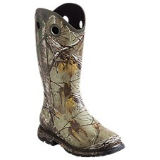 Ariat Conquest WST Rubber Buckaroo 16'' Rubber Boots for Men
