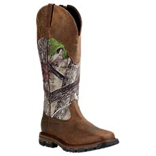 Ariat Conquest H2O Waterproof Side-Zip Snake Boots for Men