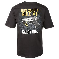 Bass Pro Shops Gun Safety Rule T-Shirt for Men