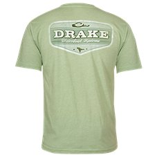 Drake Waterfowl Systems Tri-Blend Vintage Comfort Logo T-Shirt for Men