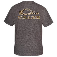 Drake Waterfowl Systems Camo Logo T-Shirt for Men