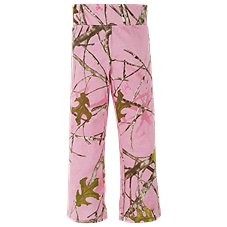 Bass Pro Shops TrueTimber Conceal Pink Yoga Pants for Toddler Girls