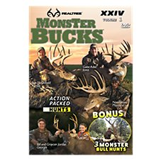 Realtree Monster Bucks XXIV Volume 1 Video - DVD