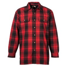 RedHead Fleece-Lined Flannel Plaid Shirt for Men