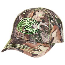Bass Pro Shops Logo Camo Cap for Kids