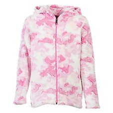 Bass Pro Shops Hilow Fleece Hooded Jacket for Toddlers or Girls