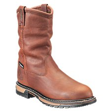ROCKY Lone Star Insulated Waterproof Work Boots for Men