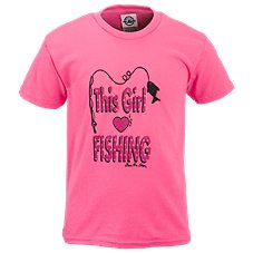 Bass Pro Shops This Girls Loves Fishing T-Shirt for Toddlers or Girls