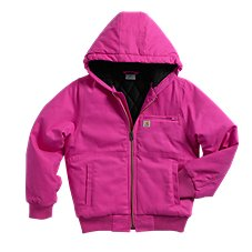 Carhartt Wildwood Quilted Flannel-Lined Jacket for Girls