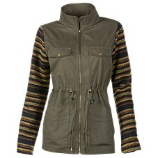 Natural Reflections Full-Zip Canvas Jacket for Ladies